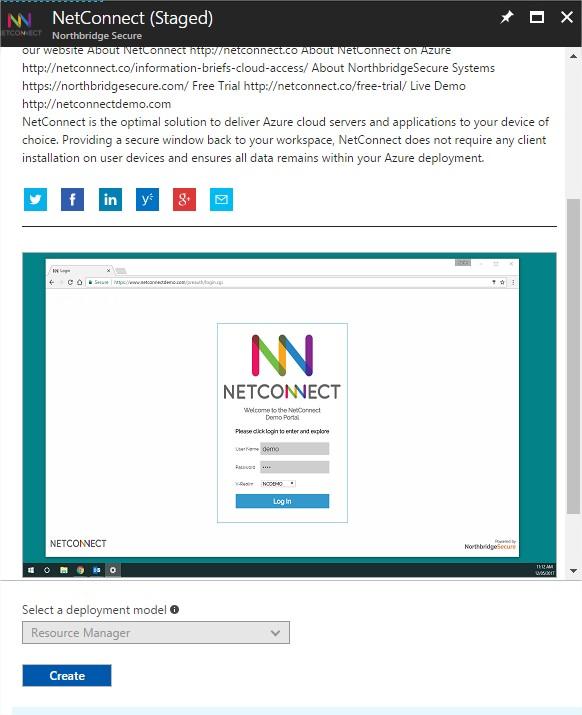 Create the NetConnect Virtual Machine