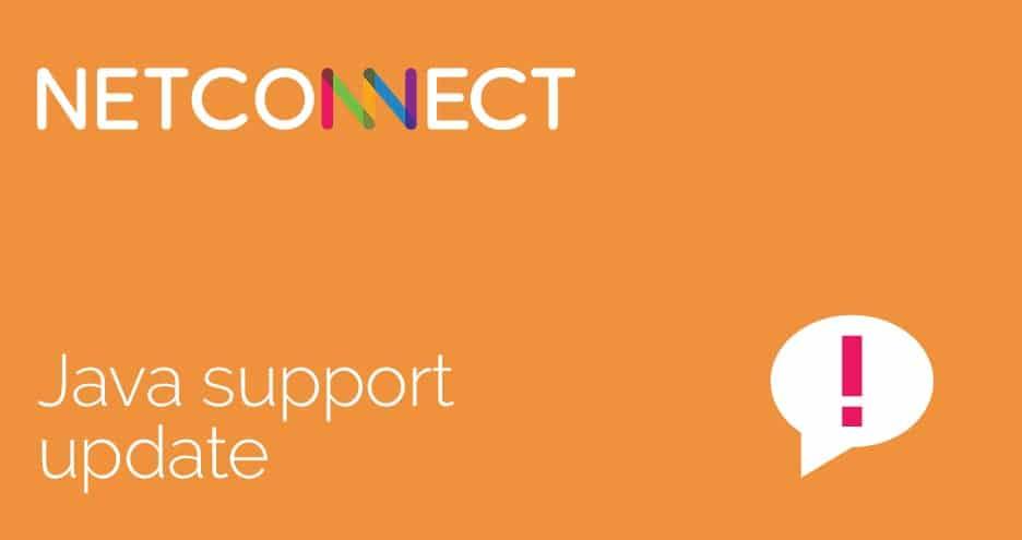 NetConnect Java Support update